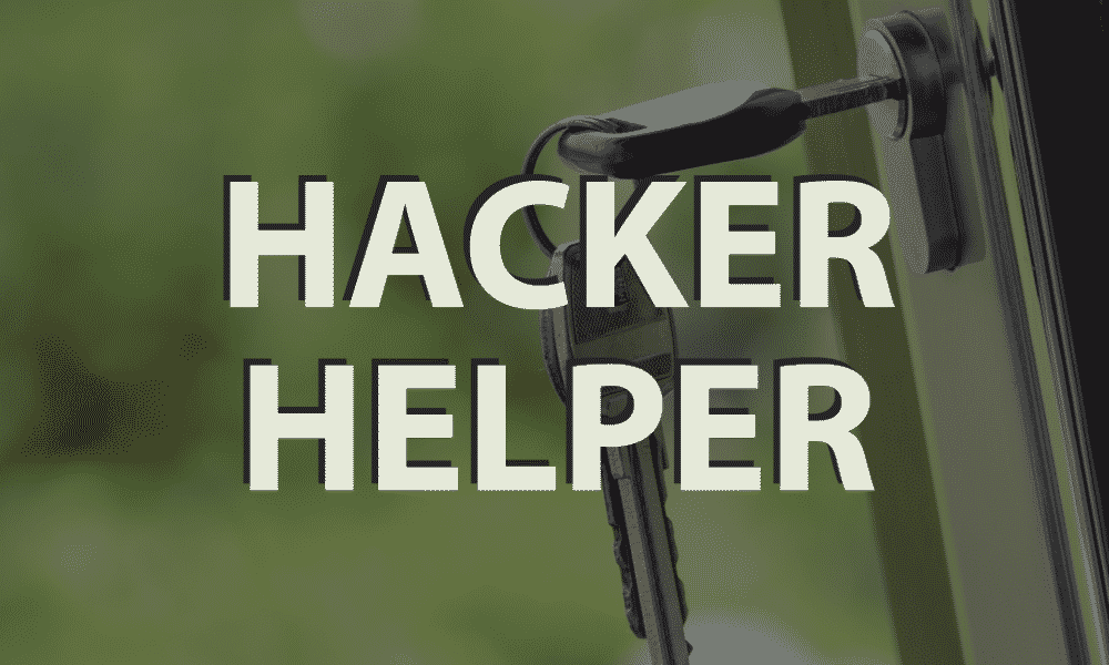 Hacker Helper 1